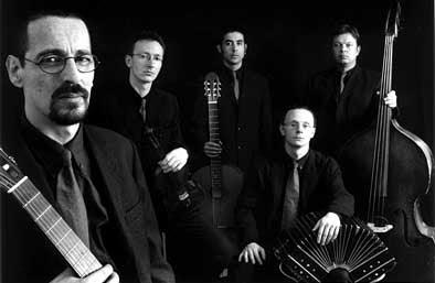 Coco Nelegatti con su quinteto Arrabal