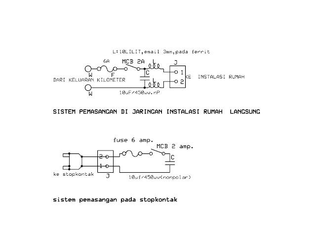 Rangkaian Komponen Alat Penghemat Listrik | Pelauts.Com