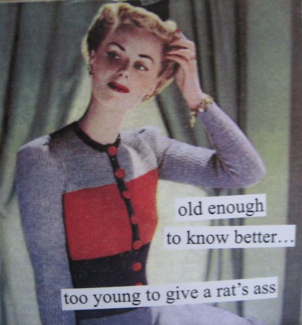 "A Sip Of Sarsaparilla: Vintage Birthday Fun: ""She Could See No Good Reason To Act Her Age..."""