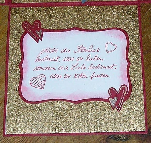 Pattys Kreativ Seite: Zur Golden Hochzeit, Einladungsentwurf