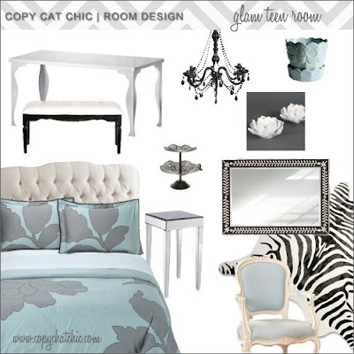 Rooms Design on Copy Cat Chic   Chic For Cheap    Room Design   Glamorous Teen Room