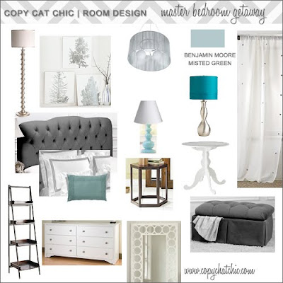 Copy cat chic hollywood glam master bedroom for Hollywood bedroom designs