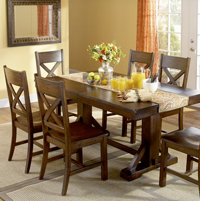 Copy Cat Chic Thomasville Wanderlust Trestle Table
