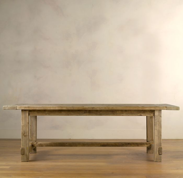 Restoration Hardware Farmhouse Salvaged Wood Table