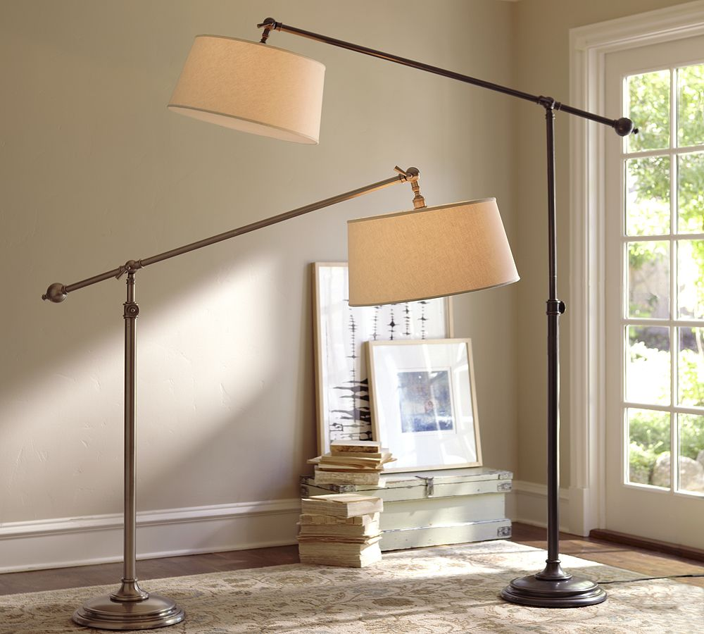 Pottery Barn Chelsea Sectional Floor Lamp Copycatchic