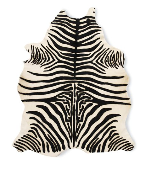 Make Your Own Zebra Rugs
