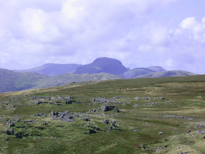Great Gable in distance