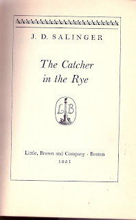an analogy of lying in the catcher in the rye by j d salinger Lying, drinking charles h incommunicability in salinger's the catcher in the rye the praises and criticisms of jd salinger's the catcher.