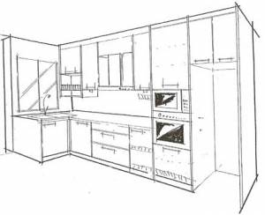Kitchen Cabinet Drawings Kitchen Design Photos