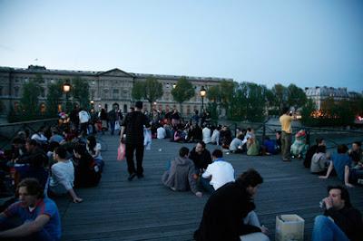 pont les arts en primavera Paris
