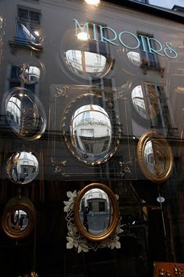 Tienda de espejos en Paris