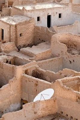 Ciudad historica de Ghat en Libia