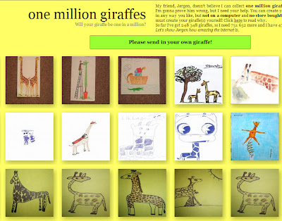 One million giraffes