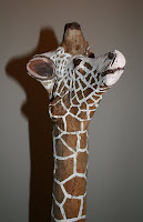 Giraffe sculpture - one of a million giraffes