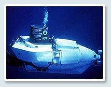 submarino para la investigación