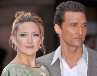 Matthew McConaughey y Kate Hudson en la presentación del film