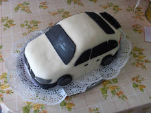 Autó torta