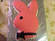 Playboy nyuszi torta