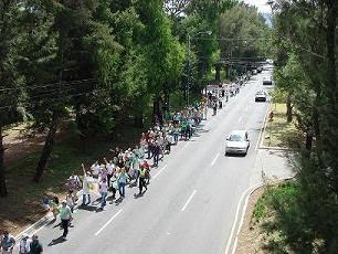 Marcha por los Barrancos