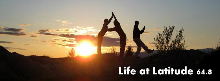 Life at Latitude 64.8
