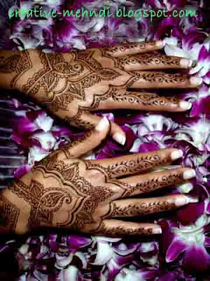 latest arabic mehendi designs