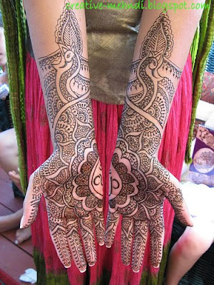 Beautiful Mehndi Design basic