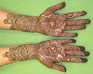 simple mehndi patterns for children