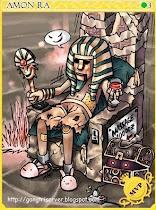 Amon Ra Card
