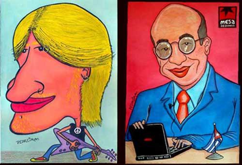 Caricaturas personales premiadas