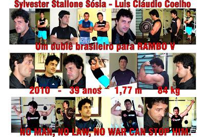 Sósia Brasileiro do Sylvester Stallone