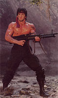 Sosia do John Rambo