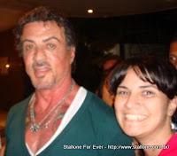 Suzana com Sylvester Stallone