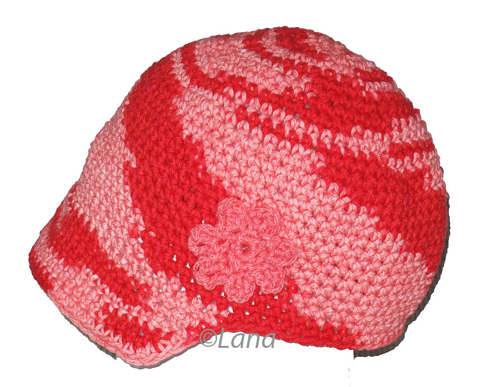 Crocheted Baby Hat Pattern - The Great Grape Baby Beanie