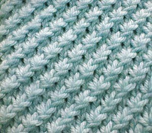 Knit Daisy Stitch Round : Lana creations My knitting work, knit project and free patterns catalogue