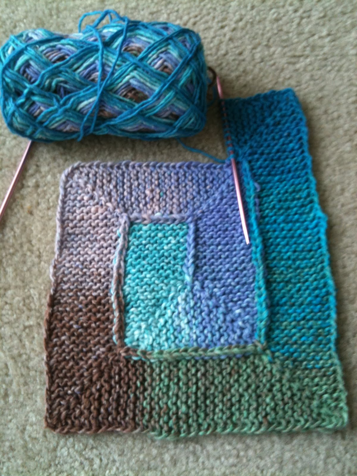 Knitting Pattern For 10 Stitch Blanket : Knit. Read. Bake.: 10 Stitch Blanket