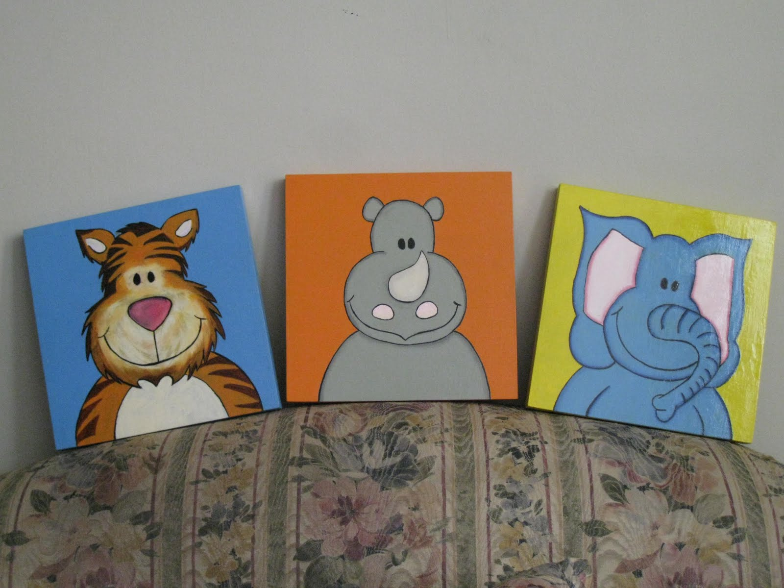 "ARTEMANIA PERU"" - Galeria de cuadros: Cuadros infantiles ""Animales ..."