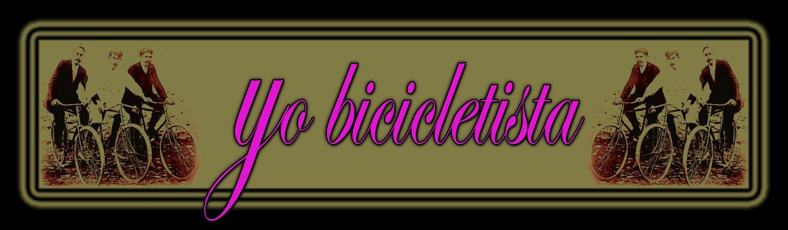 yo bicicletista