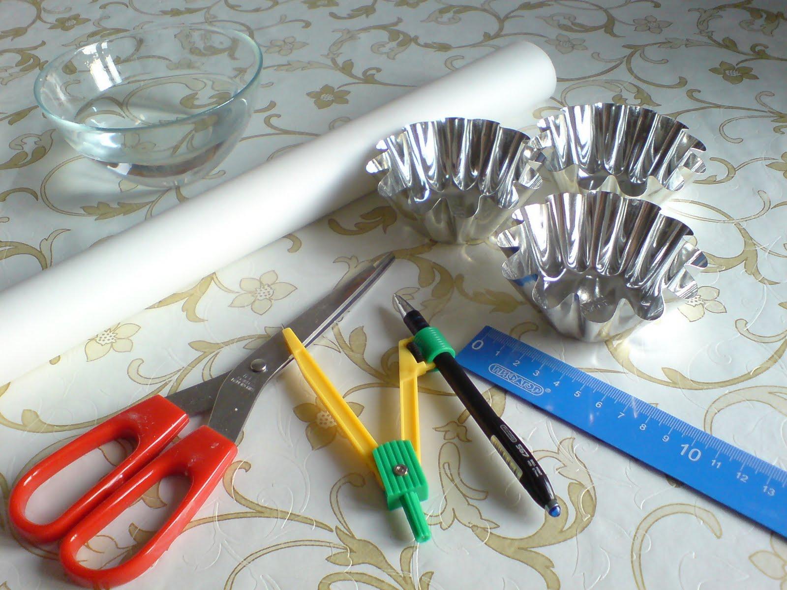 Как сделать формы для выпечки из бумаги