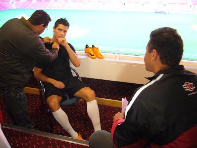 Cristiano Ronaldo e a Mercurial Vapor 6