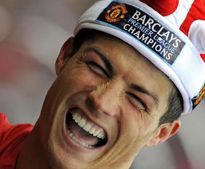 Cristiano Ronaldo Celebrates 5