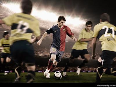 Lionel Messi Barcelona 3