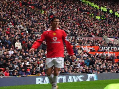 cristiano ronaldo manchester united 2