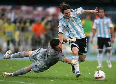 Lionel Messi Argentina 5