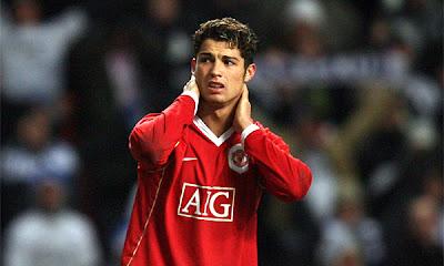 Cristiano Ronaldo Manchester United Hairstyle 4