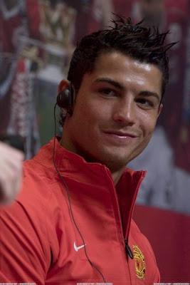 Cristiano Ronaldo Manchester United Hairstyle 5