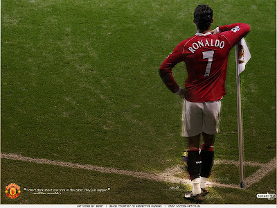 Cristiano Ronaldo-Ronaldo-CR7-Manchester United-Portugal-Transfer to Real Madrid-Posters 3