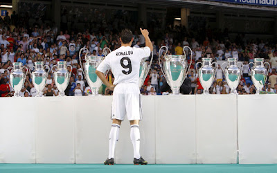 Cristiano Ronaldo 9 - Real Madrid