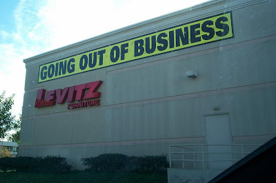 Closing Sale For Levitz Furniture Store, Which Is Also A Former SEARS  HomeLife Furniture Store. Across From SEARS In The Northridge Mall.