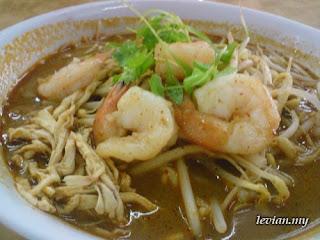 Sarawak Laksa (King Centre Cafe)
