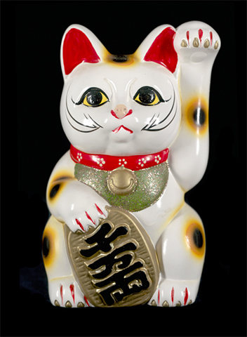 good fortune cat